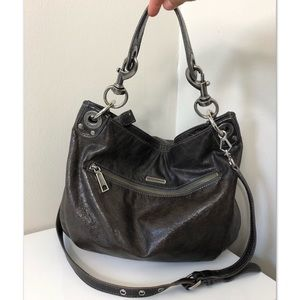 Rebecca Minkoff Brown Leather Crossbody Hobo Bag